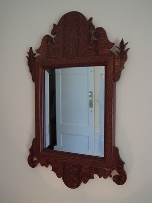 Lacewood Chippendale Mirror | Mirrors